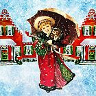 CHRISTMAS VILLAGE GIRL by Tammera