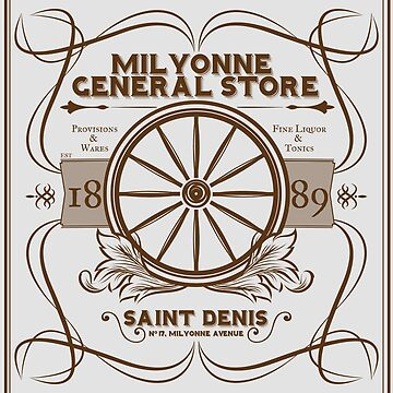 Saint Denis Old West General Store by misterpillows