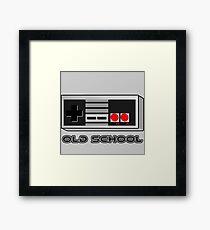 NES - Nintendo Entertainment System  Framed Print