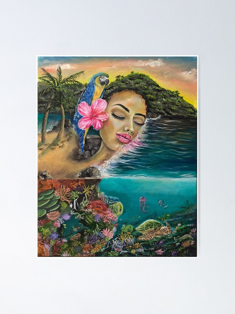 Alternate view of Island Dreaming Poster