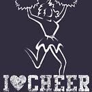 Cheerleading Cheerleader by SportsT-Shirts