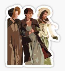 Bennet Sisters (transparent) Sticker