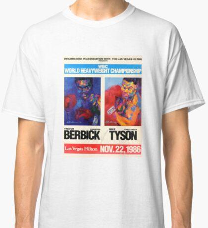 Berbick vs. Tyson Camiseta clásica