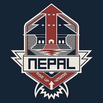 Nepal, Rise Up by mykowu