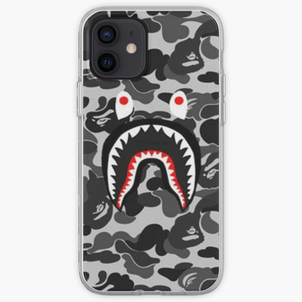Black Camo Bape Army iPhone Soft Case