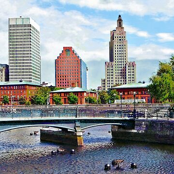 Providence RI - View From Waterplace Park by SudaP0408