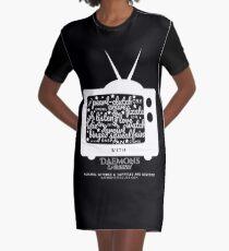 Creature Binge Watch Graphic T-Shirt Dress
