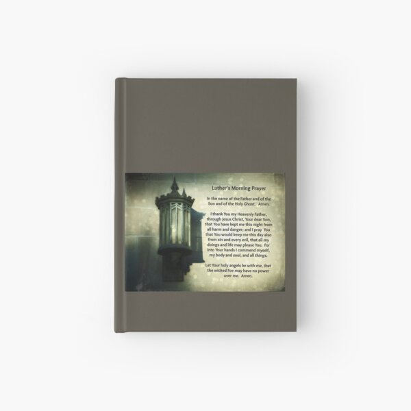 Luther's Morning Prayer Hardcover Journal