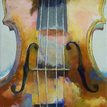 Violin Painting by michaelcreese