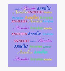 Annelies  Photographic Print