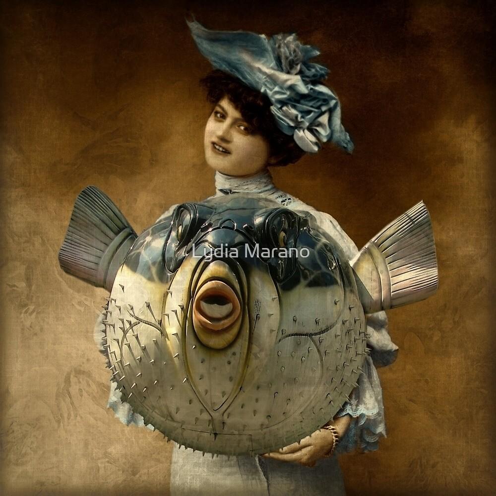 Blue Ribbon Fugu by Lydia Marano