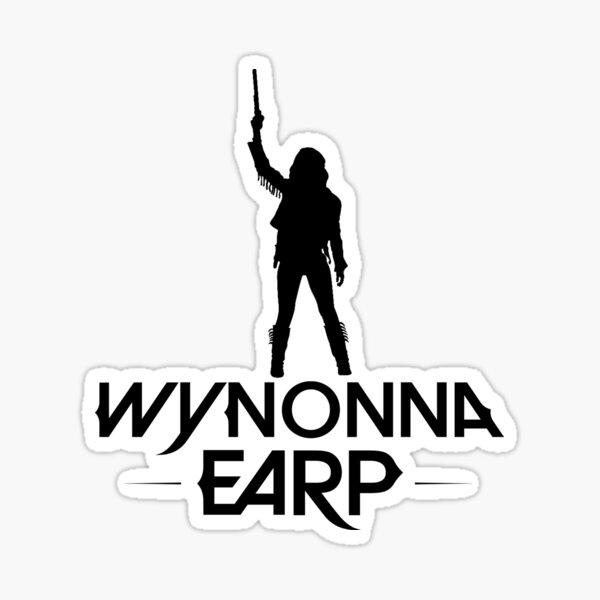 Wynonna Earp Silhouette  - Black Sticker