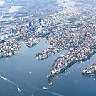 Sydney from the air by karenanderson