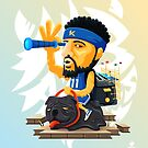 Klay the NBAlien by mykowu
