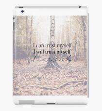 I am trustworthy  iPad Case/Skin
