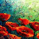 The Poppy Burst by Abstract D'Oyley