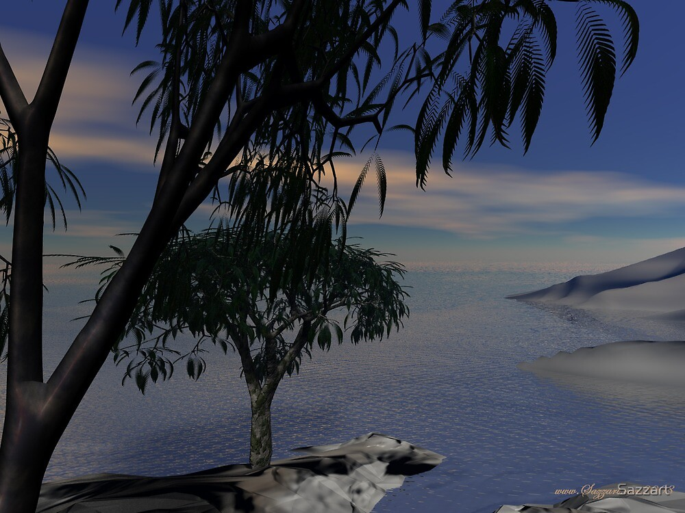 Sandsspit Peninsula by Sazzart
