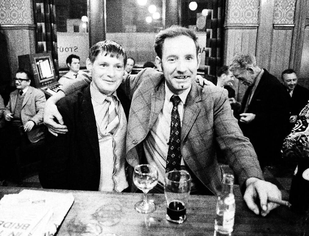 Irish bar, London 1971 by Duncan Garrett