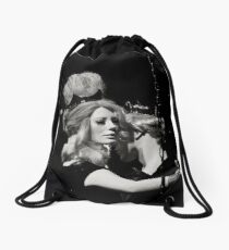 Chained at my Side Drawstring Bag