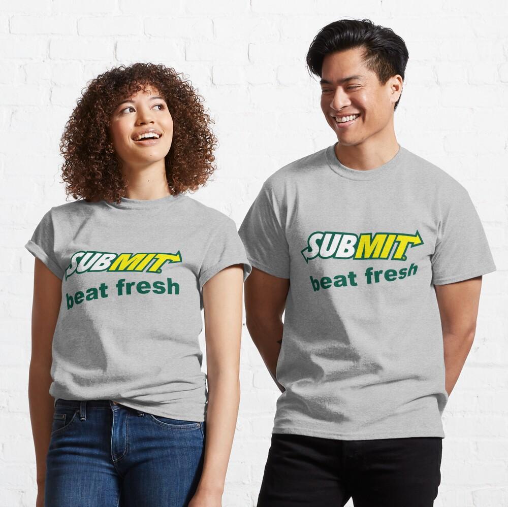 Jiu Jitsu Submit Beat Fresh Classic T-Shirt