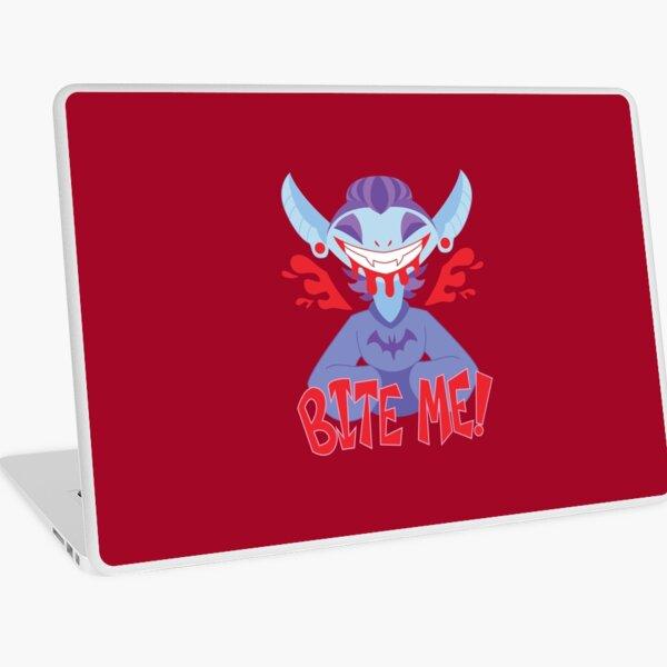 Bite Me!! Laptop Skin