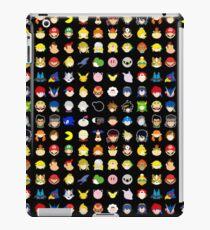 Super Smash Bros. Ultimate Character Stocks iPad Case/Skin