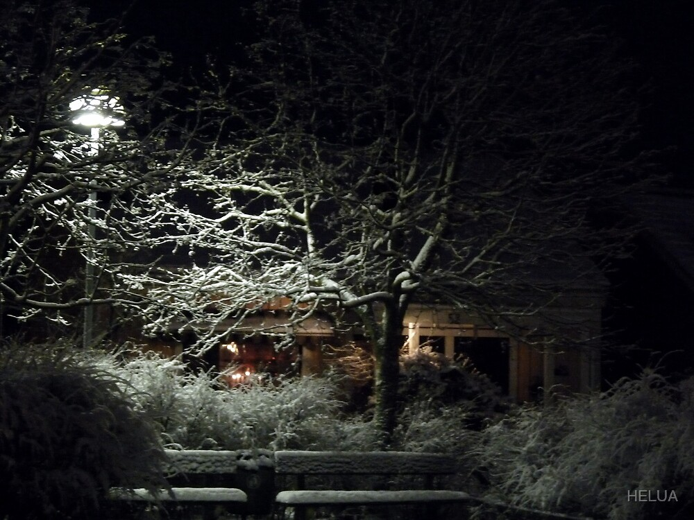 My Wintery House at Christmas by HELUA