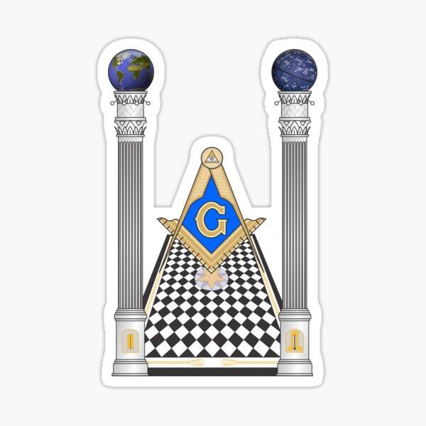 Masonería Pegatina