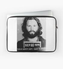 Jim Morrison Mugshot fan art by Nicheprintsnyc Laptop Sleeve