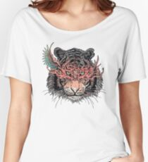 Masked Tiger Women's Relaxed Fit T-Shirt