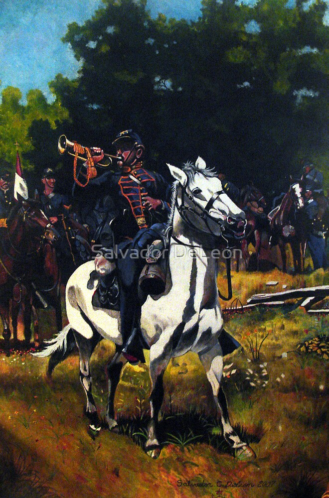 Battle of Pittsburg by Salvador DeLeon