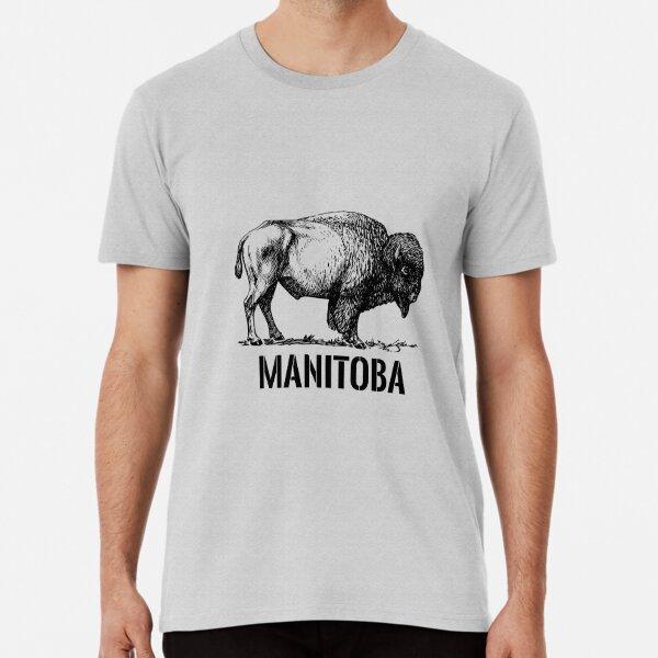 Manitoba Bison Premium T-Shirt