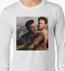 James Franco & Seth Rogen Long Sleeve T-Shirt