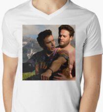 James Franco & Seth Rogen Men's V-Neck T-Shirt