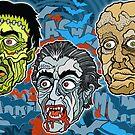 Frankenstein! Dracula! The Mummy! by Ross Radiation