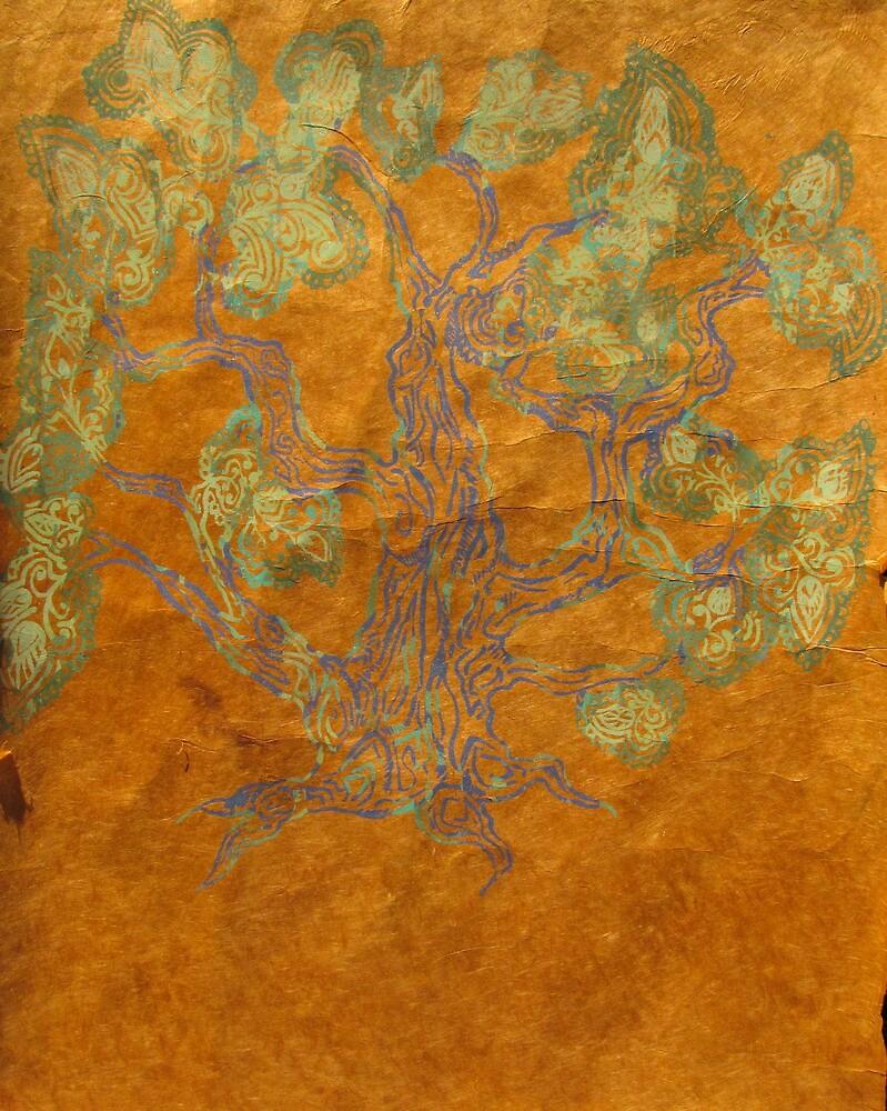 Decorated Tree by MegJay