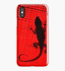 because of a Lizard. iPhone Case