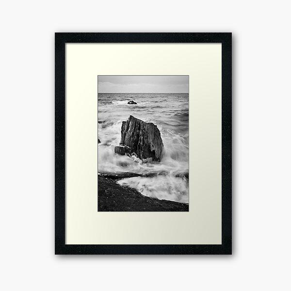 Spiky Beach Framed Art Print