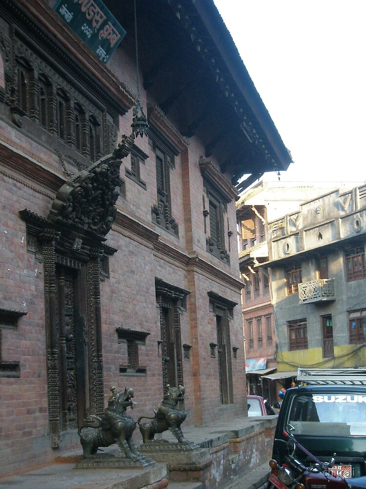 Ancient city,modern life - bhaktapur by chitrali