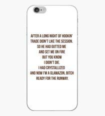 Glamazon bitch iPhone Case