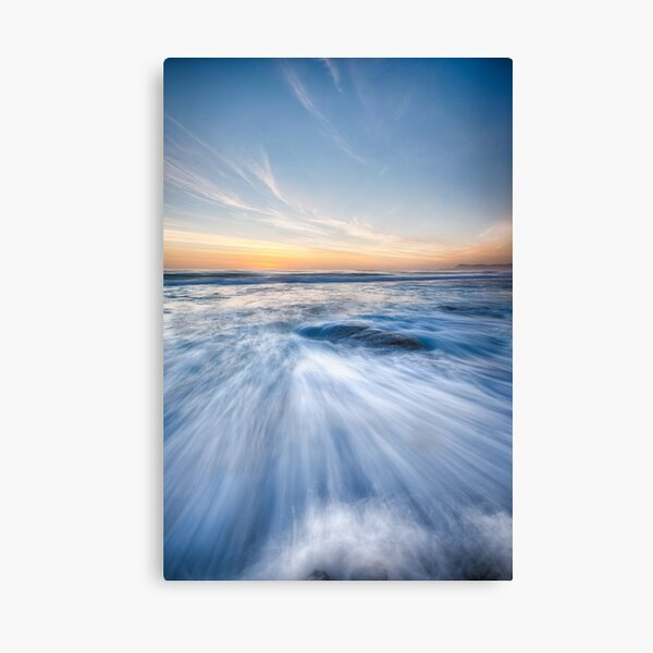 Sunrise at the Friendly Beaches Canvas Print