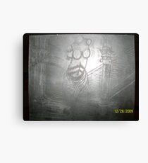 sculpture etchings Canvas Print