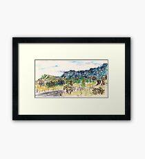 Out Past Penrose Framed Print