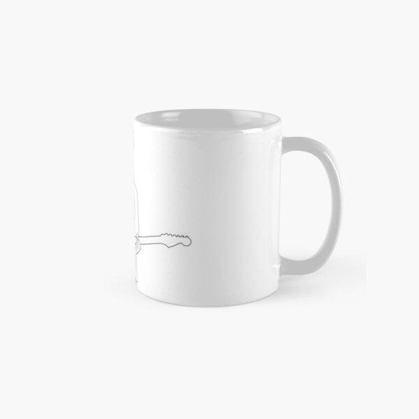 John Mayer outline Classic Mug
