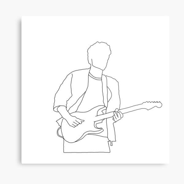 Esquema de John Mayer Lámina metálica