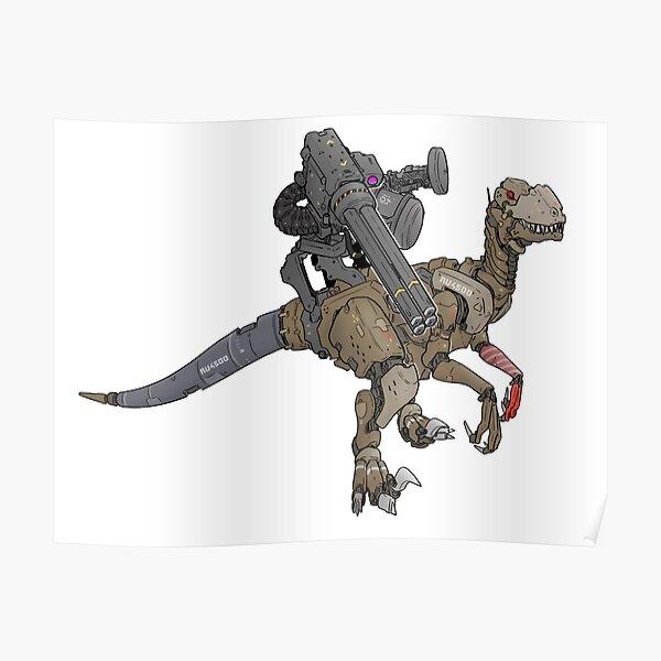 Dino Mech Zoids Raptor Poster