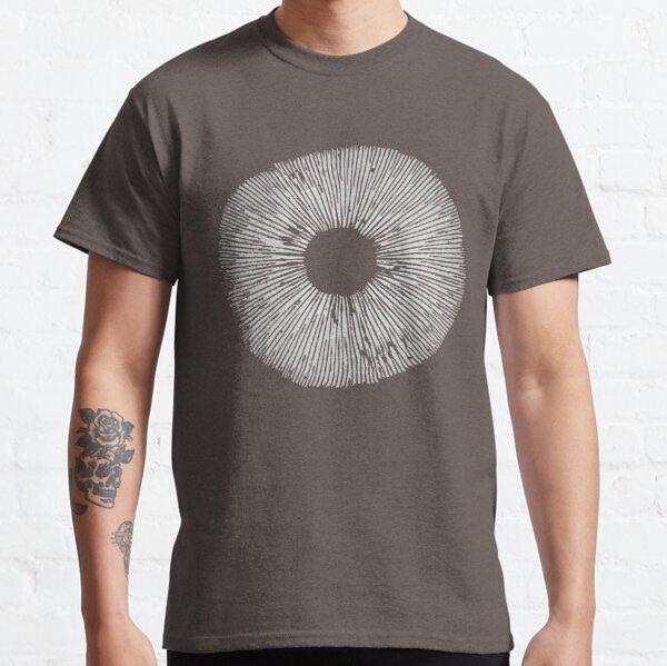 Mycologie art champignon impression spore T-shirt classique