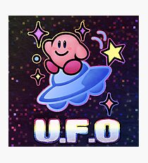 Kirby UFO Photographic Print