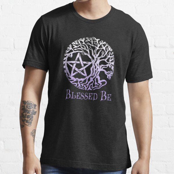 Druid Wicca Pagan Celtic Spiral Tree of Life Large Print Men/'s T-Shirt