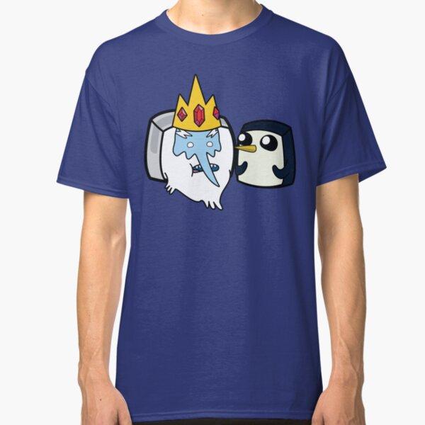 Ice King and Gunter - Adventure Time Boxheadz Classic T-Shirt